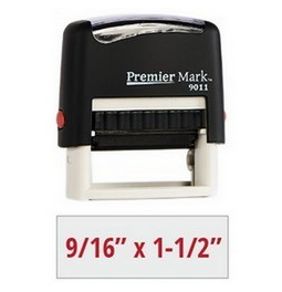 What a steal! $5.75 for a 3-line self-inking address stamp! Set and preview your stamp online!
