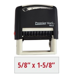 #9012 Self-Inking Stamp | Rubber Stamp Warehouse